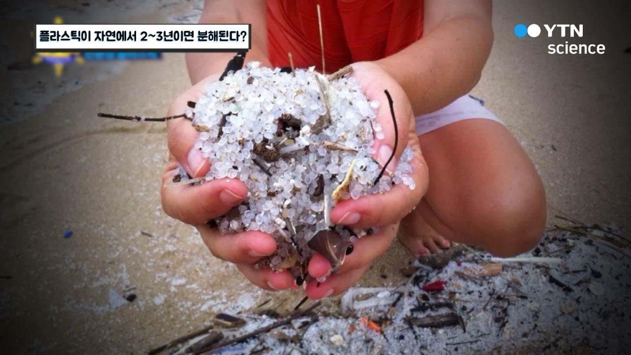 플라스틱이 자연에서 2~3년이면 분해된다?
