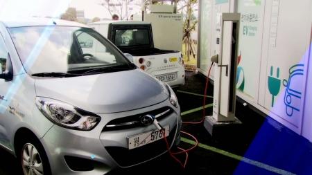 탄소 배출을 줄이는 전기자동차