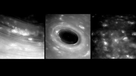 NASA, 토성 고리 근접사진 공개