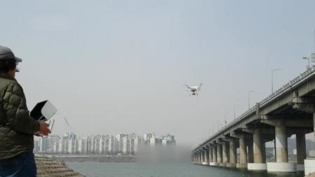 초고화질 드론 활용해 한강 교량 안전 점검