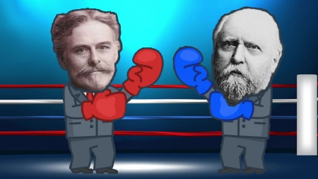 돌팔매에 총질까지? 고생물학계 맞수, 마시 vs 코프의 '뼈 전쟁'