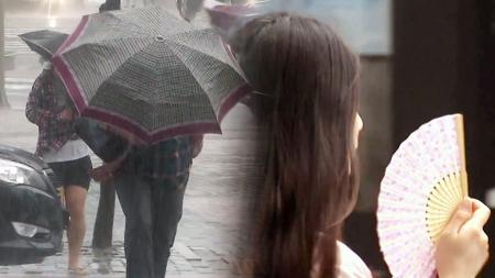 [날씨] 경북 호우주의보, 서울엔 폭염주의보