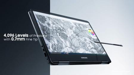 태블릿 닮은 노트북…삼성 노트북9 펜