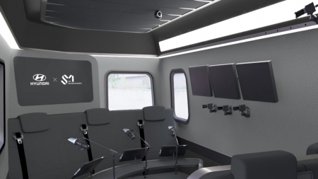 현대차, 차 안 움직이는 방송국 공개
