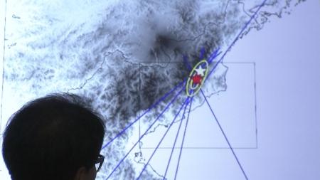"""北 풍계리 규모 3.2 지진...기상청 """"자연지진"""""""