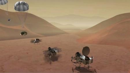 '잠자리 드론'…외계 생명체 흔적 찾는다