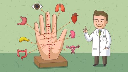 침·뜸 놓는 자리 '경혈'…과학적으로 밝혔다