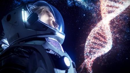 우주공간에서 유전자 변화는?