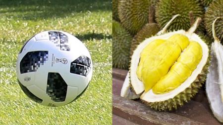 월드컵 공인구와 열대과일 두리안의 공통점은?
