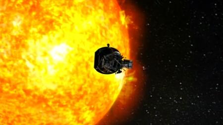 '태양을 만지다'...인류 첫 태양탐사선 성공리 발사