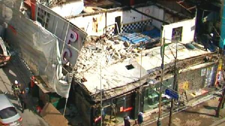 안전을 위협하는 건물붕괴
