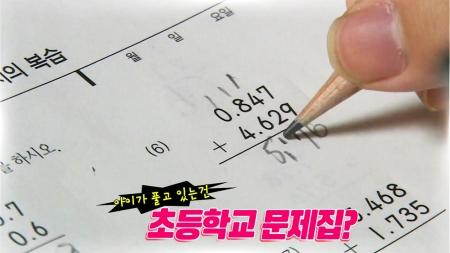 초등수학을 공부하는 중학생