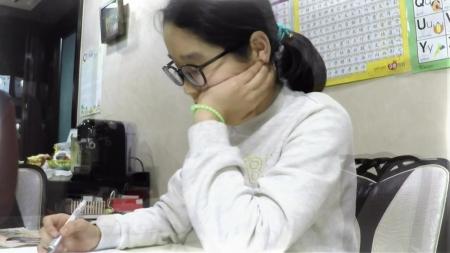 수학에만 승부욕 없는 아이