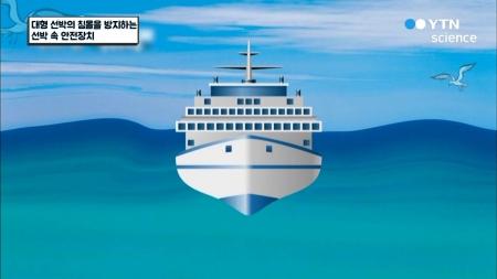 대형 선박의 침몰을 방지하는 선박 속 안전장치