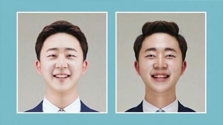 오른쪽? 왼쪽? 어느 쪽 얼굴이 호감형일까?