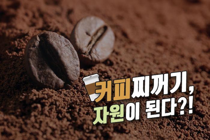 커피찌꺼기, 자원이 된다?! 이미지