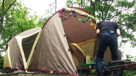 '미세먼지'를 부르는 가을 캠핑?