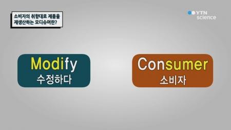 소비자의 취향대로 제품을 재조합하는 모디슈머란?